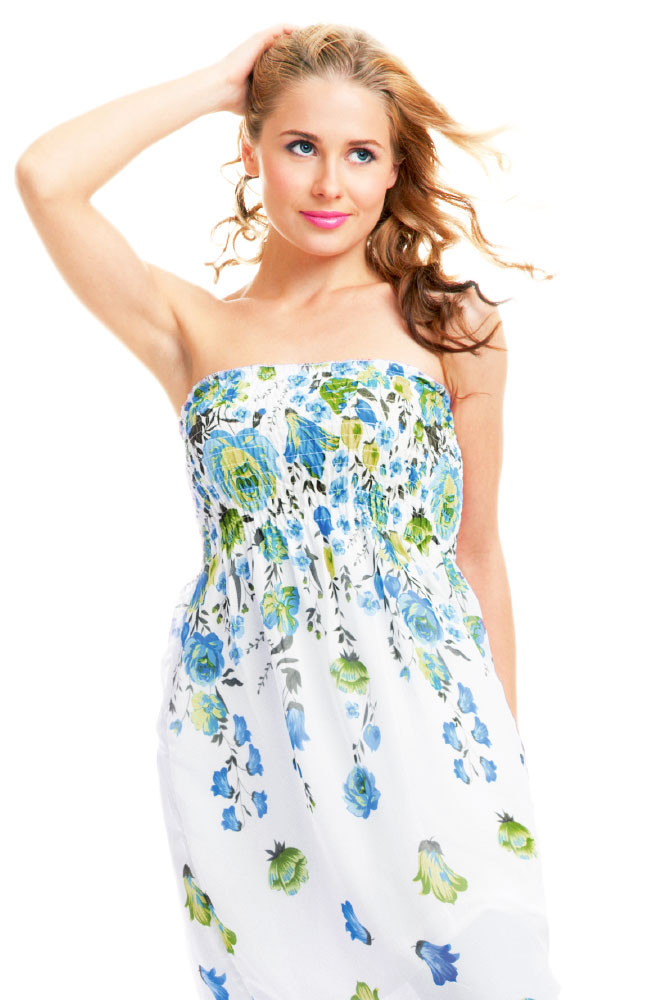 Versatil Strapless Sundress