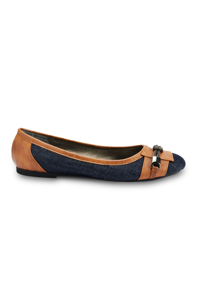 Coolers Fabric &  Leather Flats