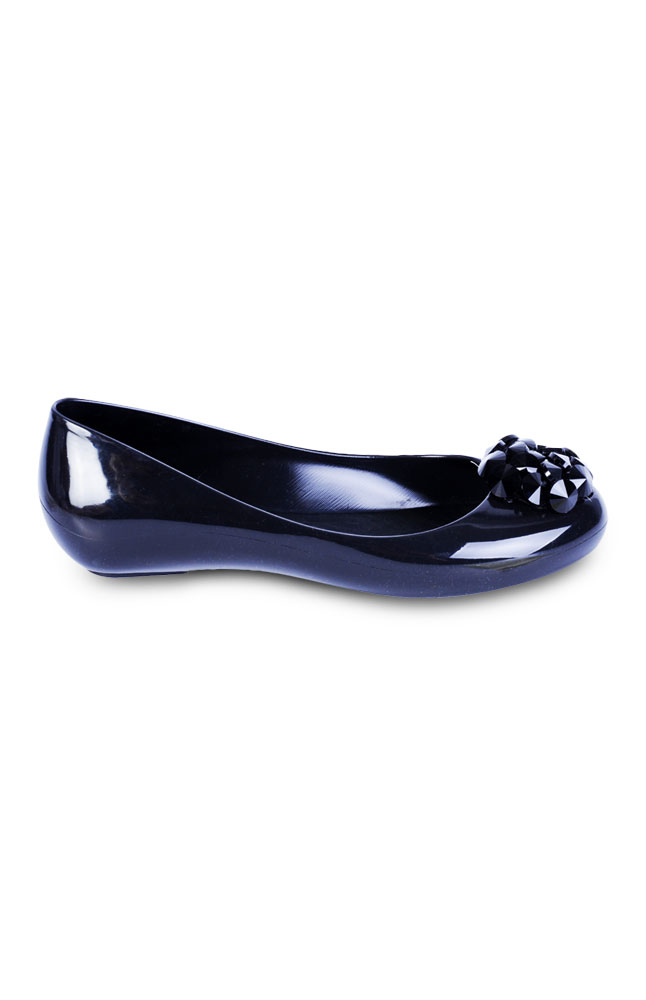 Emery Black Synthetic Pumps