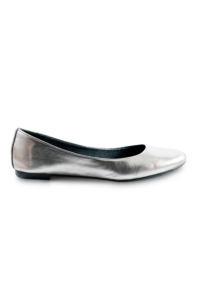 Mayflower Silver Synthetic Flats