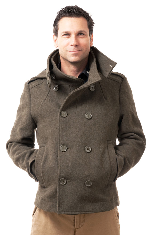 Hermitage Collection Double-Breasted Pea Coat