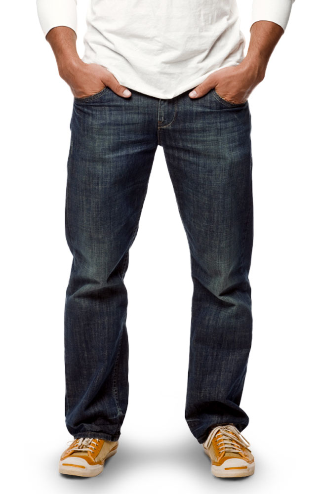 Hermitage Collection Straight Leg Jeans