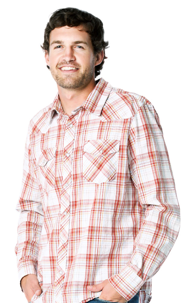 Gusso Peacemaker Plaid Shirt