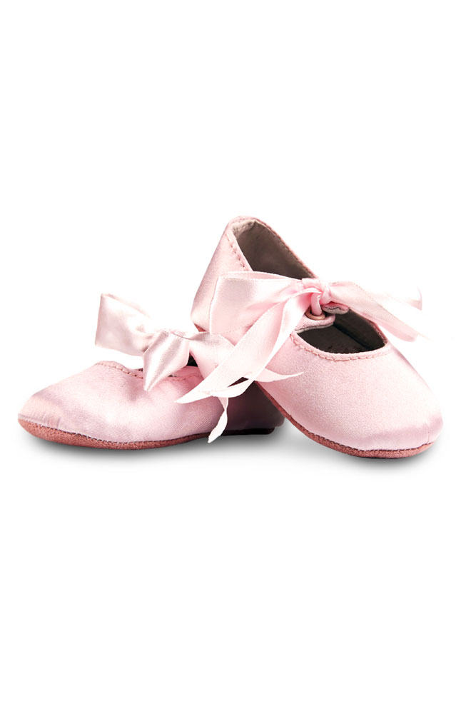 Mayflower Girls' Ballet Slippers with Ribbon